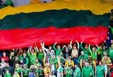 """Lietuvos rinktinę trečiojo FIBA Pasaulio taurės """"lango"""" metu palaikys gausus būrys sirgalių"""