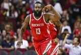 NBA savaitės geriausieji – iš Klivlando ir Hiustono klubų