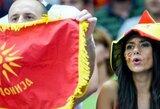 Makedonija pateikė apeliaciją dėl rungtynių su Juodkalnija baigties