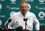 """""""Celtics"""" klubo prezidentas D.Ainge'as: """"Žaidėjas atvykdamas į NBA turi būti pasiruošęs psichologiškai, emociškai ir fiziškai"""""""