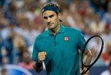 S.Williams atsisakė žaisti Sinsinatyje, R.Federeris ir N.Djokovičius pergalingai grįžo po Vimbldono finalo