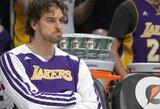 """""""Lakers"""" pralaimėjo šeštą kartą iš eilės"""