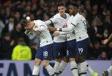 """Per pirmąsias 15 minučių reikalus sutvarkę """"Tottenham"""" pateko į kitą Anglijos FA taurės etapą"""