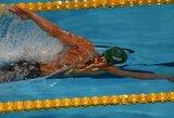 M.Sadauskas plaukimo varžybose Švedijoje finišavo penktas