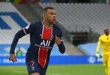 """Įspūdinga alga: išsigandęs """"Real"""" didybės PSG pateikė pasiūlymą K.Mbappe"""