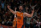 """""""Valencia"""" – žingsniu arčiau link Europos taurės čempionų titulo"""
