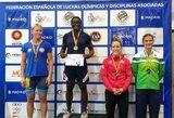 "Imtynininkei D.Domikaitytei – ""Grand Prix"" turnyro bronza"