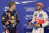 """L.Hamiltonas 2013 metų """"Formulės 1"""" sezono favoritu laiko S.Vettelį"""