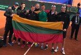 Daviso taurė: kitų metų pavasarį į Lietuvą atvyks Portugalijos teniso rinktinė