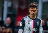 """""""Juventus"""" puolėjas P.Dybala: """"Būtų smagu žaisti už """"Barceloną"""""""