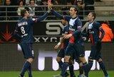 Prancūzijoje – eilinė PSG pergalė bei keturi mačai pasibaigę identiškais rezultatais
