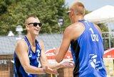 Be kovos į kitą etapą patekę A.Rumševičius ir L.Každailis susitiks su olimpiniu čempionu