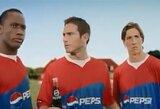 """""""Pepsi"""" reklamoje - D.Drogba, F.Lampardas ir F.Torresas"""