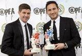 F.Lampardas ir S.Gerrardas apsikeitė žinutėmis prieš vadovaujamų klubų sezono startą