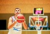 """Žaidėjas ir treneris S.Serapinas: """"Galiu mėgautis žaidimu ir jau po truputį pereiti link trenerio karjeros"""""""