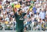 """Pamatykite: G.Buffonas pasveikino """"Juventus"""" su įspūdinga pergale Čempionų lygoje"""