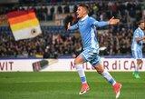 """Italija: """"Lazio"""" nusileidę """"Inter"""" prarado tris taškus"""