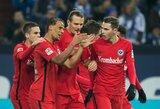 """Eintracht"" nutraukė Gelzenkircheno prakeiksmą"