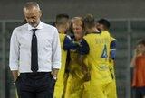 """""""Lazio"""" patyrė pažeminimą Veronoje, """"Inter"""" įveikė lygos nykštukus"""
