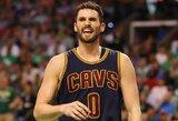 NBA naujokų biržos metu K.Love'as vos nepersikėlė į Denverį, P.George'as – į Klivlandą