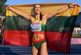 D.Zagainova užtikrintai laimėjo trišuolio rungtį Valensijoje