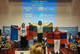 D.Žarovienė gerino pasaulio rekordus ir iškovojo Europos jėgos trikovės čempionato bronzą
