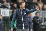 """J.Nagelsmannas neigia bendravęs su """"Borussia"""" dėl trenerio pareigų"""