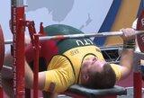 P.Morkvėnas iškovojo Europos jėgos trikovės čempionato sidabrą