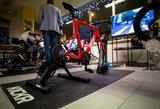 Kviečia nemokamai išmėginti dviračių simuliatorius