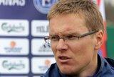 """""""Ekrano"""" treneris V.Dambrauskas: """"Tikiu, kad Islandijoje viskas bus kitaip"""""""