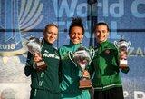 Neįtikėtina: iš 24-os vietos startavusi G.Venčkauskaitė iškovojo pasaulio taurės finalo medalį! (papildyta)