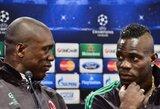 """M.Balotelli: """"C.Seedorfas mums yra kaip brolis"""""""