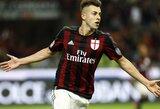 """S.El Shaarawy karjera """"Milan"""" klube jau baigta"""