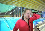 R.Meilutytė Lietuvos čempionate sieks dar dviejų aukso medalių (dvi estafetės pagerino Lietuvos rekordą)