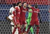 """Pirmų rungtynių pakartojimas: M.Salah ir S.Mane vėl vedė """"Liverpool"""" į pergalę prieš """"RB Leipzig"""""""