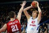 A.Kirilenka pripažintas naudingiausiu VTB lygos krepšininku, o J.Valančiūnas užėmė trečią vietą