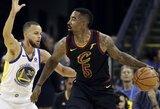 """Pamatykite, kaip J.R. Smithas nelogišku sprendimu paskandino """"Cavaliers"""""""