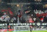"Frankfurto ""Eintracht"" sirgaliai drebino stadioną (VIDEO)"