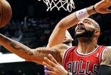 """""""Bulls"""" pergalę lėmė N.Robinsono dvitaškis ir iš krepšio """"išspjautas"""" B.Lopezo metimas"""