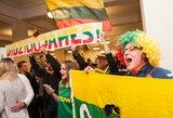 Pamatykite: kaip buvo sutikta Lietuvos parolimpinė rinktinė