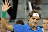 """R.Federeris po dramatiškos kovos pateko į trečiąjį """"Mutua Madrid Open"""" turnyro ratą  (visi rezultatai)"""