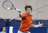 Turnyro Kazanėje favoritas R.Berankis sužinojo pirmąjį savo varžovą