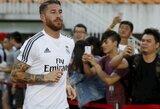 """""""Real"""" pozicija: S.Ramosas nebus parduotas jokiomis sąlygomis"""