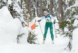 Europos orientavimosi sporto slidėmis čempionato estafečių varžybose abi Lietuvos rinktinės finišavo 7-oje vietoje