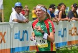 A.Kutkaitė Europos orientavimosi sporto čempionate aplenkė daugiau nei 80 varžovių