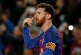 """Kova dėl """"Auksinio batelio"""": dublį pelnęs L.Messi išsaugojo lyderio poziciją"""