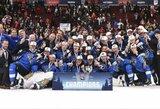 Rungtynių pabaigoje pelnytas įvartis padovanojo suomiams pasaulio jaunimo čempionato auksą