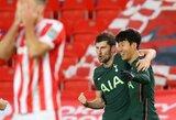 """""""Stoke City"""" nugalėjęs """"Tottenham"""" iškovojo bilietą į """"Carabao"""" taurės pusfinalį"""