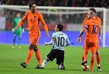 Olandai ir belgai sužaidė lygiosiomis