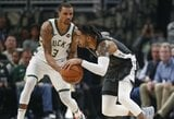 """NBA lyderę įveikusi """"Nets"""" priartėjo prie atkrintamųjų"""